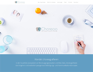 Bild der Referenz: Choreoo - The Human Side of Change